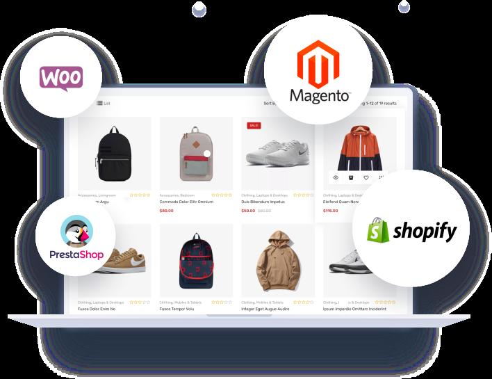 Intégralo con tu e-commerce