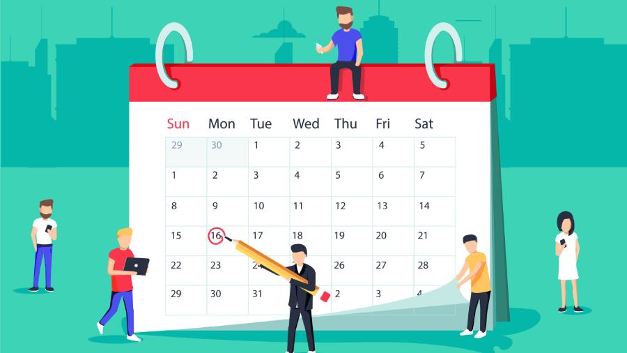 Calendario fiscal del primer trimestre de 2019