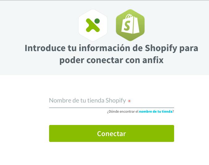 [Nuevo] Conecta Anfix con tu tienda online de Shopify