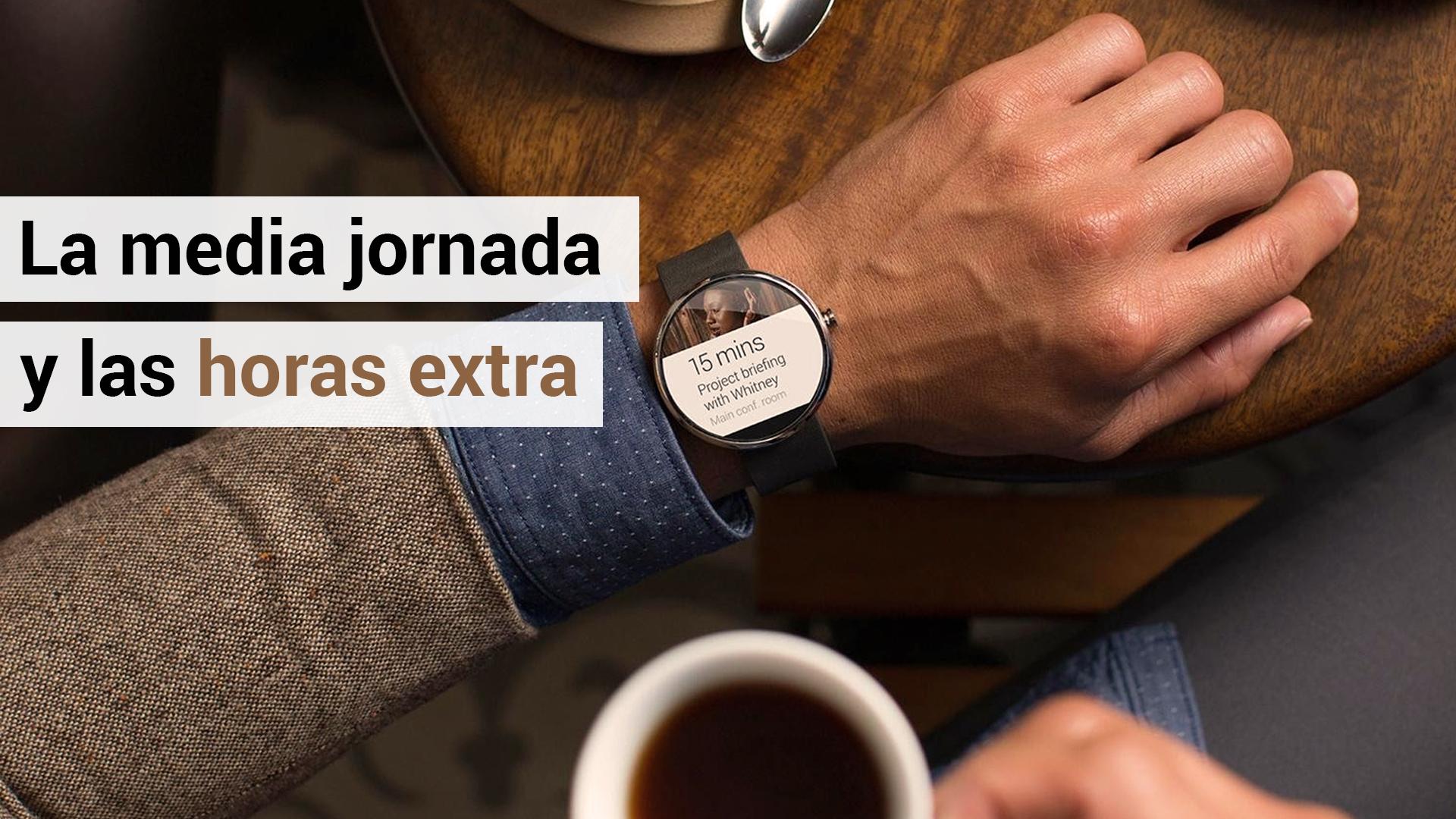 Los trabajadores a media jornada no pueden hacer horas extraordinarias