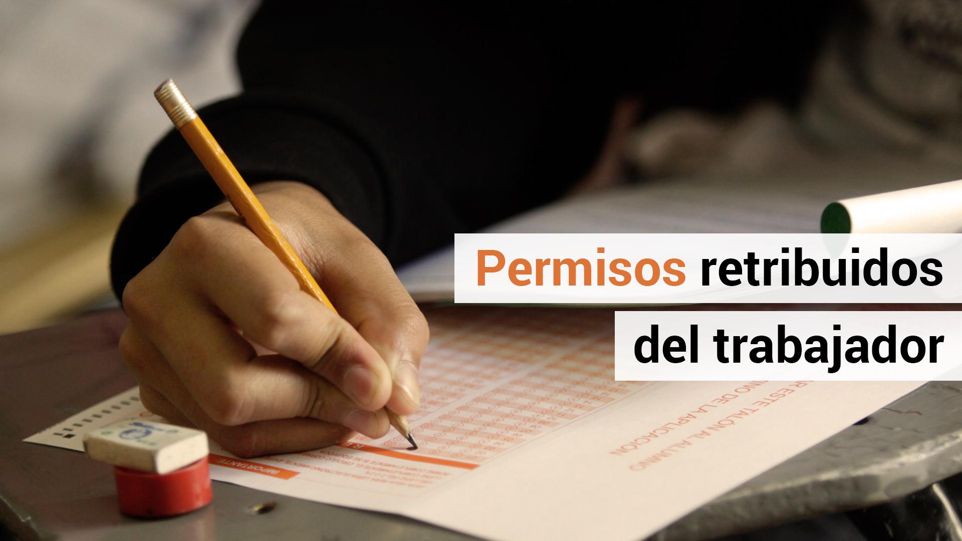 El trabajador también tiene derecho a permisos retribuidos