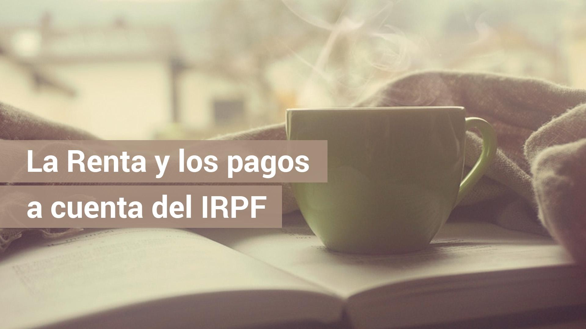 Si eres profesional también puedes presentar pagos a cuenta de IRPF