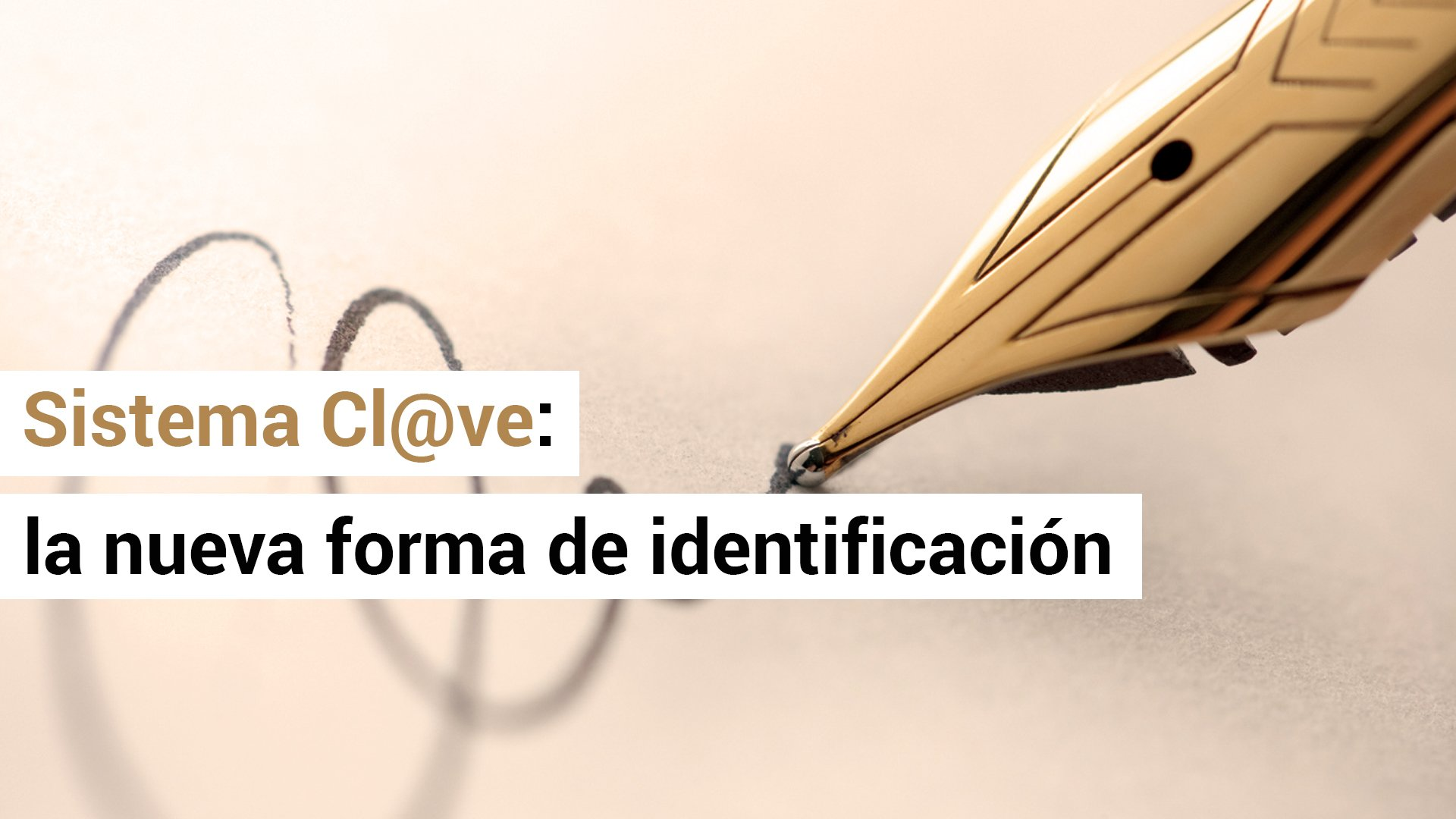 Hacienda lanza el sistema Cl@ve de firma electrónica