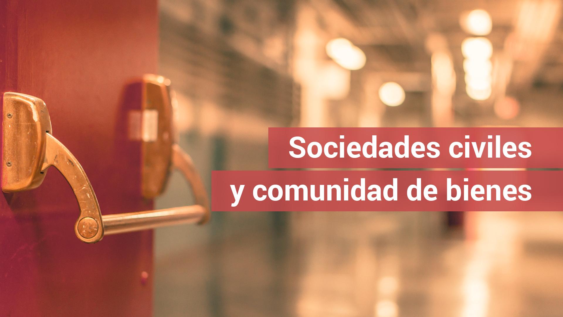 La AEAT aclara la nueva tributación de las sociedades civiles y comunidades de bienes