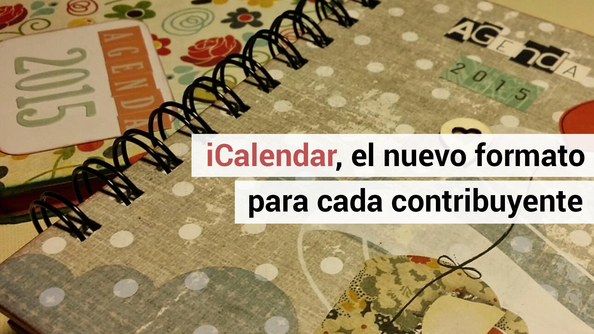 La Agencia Tributaria publica el calendario fiscal 2015 en formato iCalendar