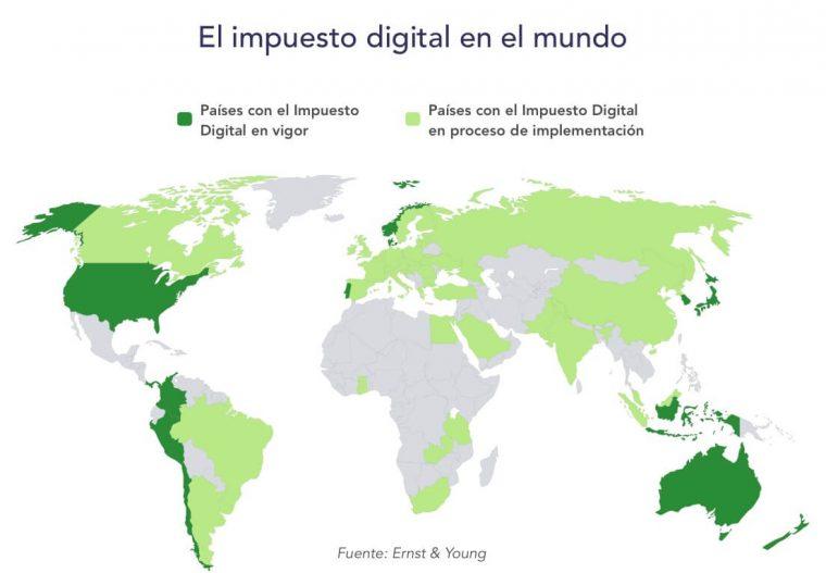 Impuestos digitales: ¿qué está ocurriendo a nivel internacional?