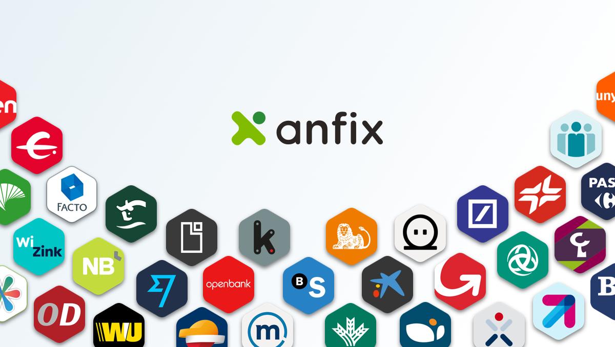 Deutsche Bank, ING y hasta 72 bancos más, ya disponibles para conectar con Anfix.