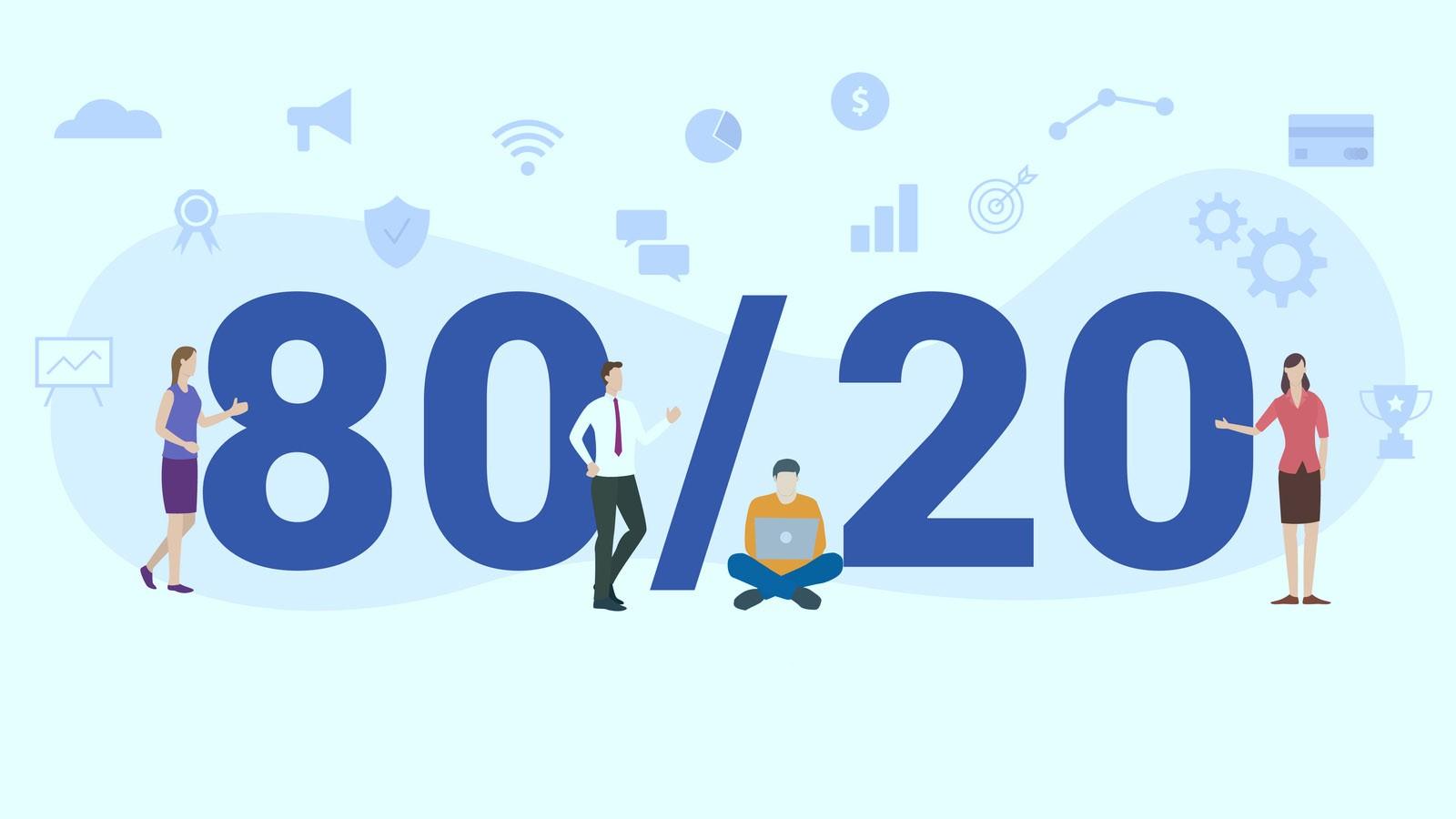 ¿Qué es el Principio de Pareto? La Ley del 80/20