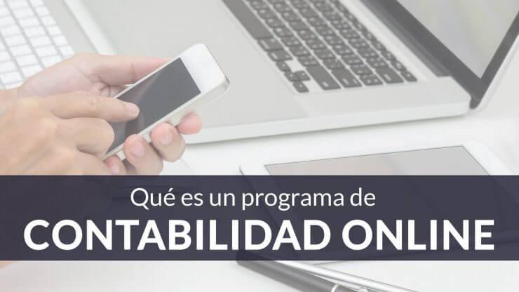 ¿Qué es un programa de contabilidad online?