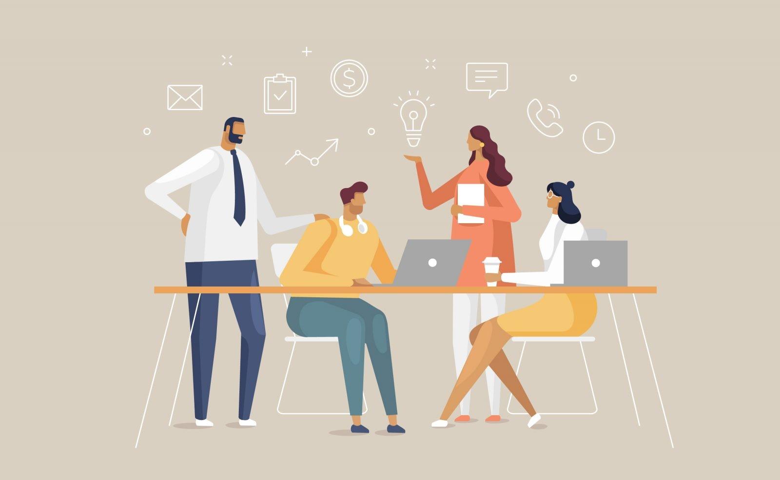 Cómo gestionar equipos cuando tu negocio ha crecido
